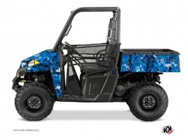 Kit Déco SSV Camo Polaris Ranger 900 Bleu