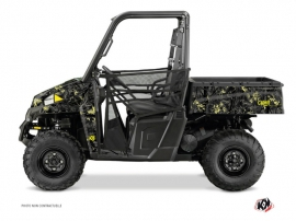 Polaris Ranger 900 UTV Camo Graphic Kit Black Yellow