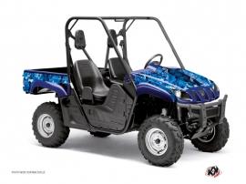 Kit Déco SSV Camo Yamaha Rhino Bleu