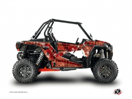 Kit Déco SSV Camo Polaris RZR 1000 Rouge