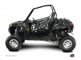 Polaris RZR 170 UTV Camo Graphic Kit Black Yellow