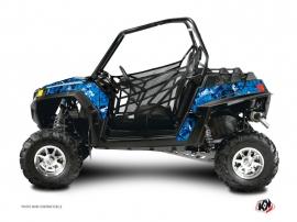 Kit Déco SSV Camo Polaris RZR 800 S Bleu