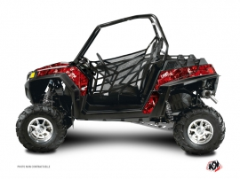 Polaris RZR 800 S UTV Camo Graphic Kit Red