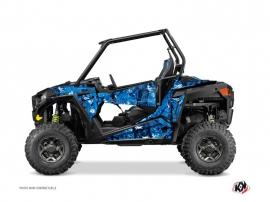 Kit Déco SSV Camo Polaris RZR 900 Bleu