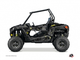 Polaris RZR 900 UTV Camo Graphic Kit Black Yellow