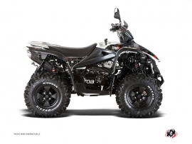 TGB Target ATV Camo Graphic Kit Black Red