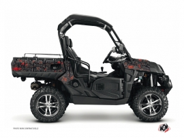 Kit Déco SSV Camo CF Moto U Force 800 Noir Rouge