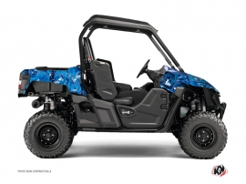 Kit Déco SSV Camo Yamaha Wolverine R Bleu