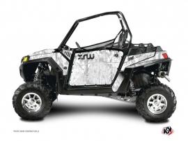 Kit Déco Portes Standard XRW Camo SSV Polaris RZR 570/800/900 2008-2014 Blanc