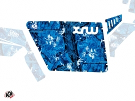 Graphic Kit Doors Standard XRW Camo UTV Polaris RZR 570/800/900 2008-2014 Blue