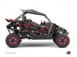 Kit Déco SSV Camo Yamaha YXZ 1000 R Noir Rouge