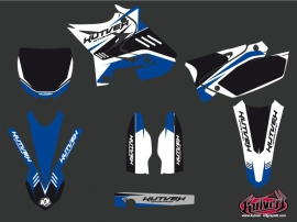 Yamaha 125 YZ Dirt Bike Chrono Graphic kit UFO Relift