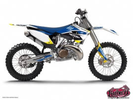 Kit Déco Moto Cross Chrono Husqvarna 125 TE