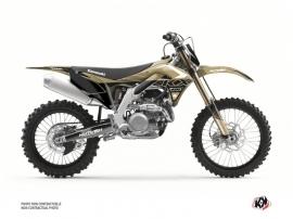 Kawasaki 250 KXF Dirt Bike Claw Graphic Kit Sand