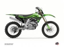Kawasaki 250 KXF Dirt Bike Claw Graphic Kit Green