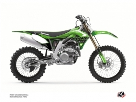 Kawasaki 450 KXF Dirt Bike Claw Graphic Kit Green