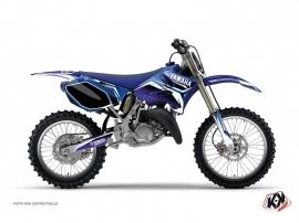 Kit Déco Moto Cross Concept Yamaha 125 YZ Bleu