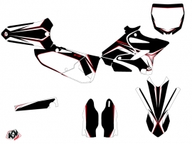 Kit Déco Moto Cross Concept Yamaha 250 YZ Rouge