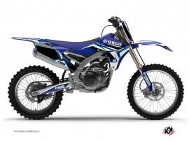 Kit Déco Moto Cross Concept Yamaha 250 YZF Bleu