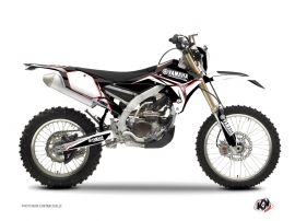 Yamaha 450 WRF Dirt Bike Concept Graphic Kit Red