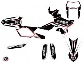 Yamaha 450 WRF Dirt Bike Concept Graphic Kit Red
