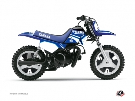 Kit Déco Moto Cross Concept Yamaha PW 50 Bleu