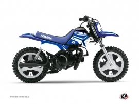 Kit Déco Moto Cross Concept Yamaha PW 50 Bleu