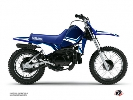 Kit Déco Moto Cross Concept Yamaha PW 80 Bleu