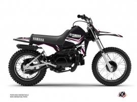 Kit Déco Moto Cross Concept Yamaha PW 80 Rose