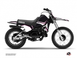 Kit Déco Moto Cross Concept Yamaha PW 80 Rose