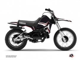 Kit Déco Moto Cross Concept Yamaha PW 80 Rouge