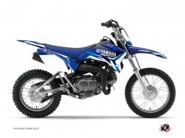 Kit Déco Moto Cross Concept Yamaha TTR 110 Bleu