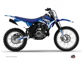 Kit Déco Moto Cross Concept Yamaha TTR 125 Bleu