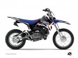 Kit Déco Moto Cross Concept Yamaha TTR 90 Rouge