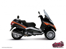 Kit Déco Maxiscoot Cooper Piaggio MP 3 Orange