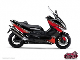 Yamaha TMAX 500 Maxiscooter Cooper Graphic Kit Red