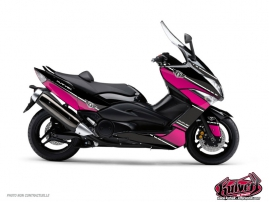 Yamaha TMAX 530 Maxiscooter Cooper Graphic Kit Pink
