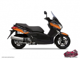 Kit Déco Maxiscooter Cooper Yamaha XMAX 125 Orange