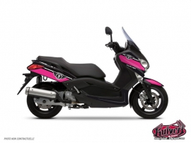 Kit Déco Maxiscooter Cooper Yamaha XMAX 125 Rose