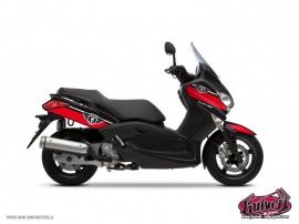 Kit Déco Maxiscooter Cooper Yamaha XMAX 125 Rouge