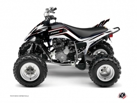 Yamaha 250 Raptor ATV Corporate Graphic Kit Black