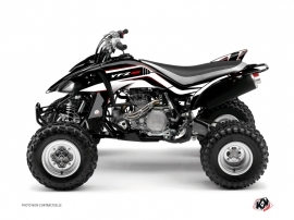 Yamaha 450 YFZ ATV Corporate Graphic Kit Black