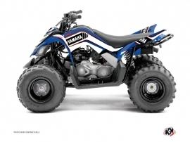 Kit Déco Quad Corporate Yamaha 90 Raptor Bleu
