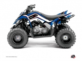 Kit Déco Quad Corporate Yamaha 90 Raptor Bleu