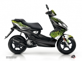 Yamaha Aerox Scooter Cosmic Graphic Kit Green