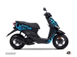 Kit Déco Scooter Cosmic MBK Ovetto Bleu