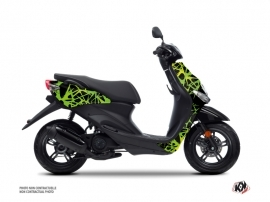 MBK Ovetto Scooter Cosmic Graphic Kit Green