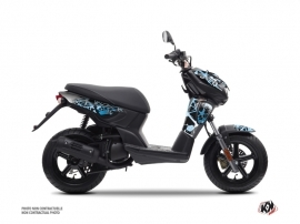 Yamaha Slider Scooter Cosmic Graphic Kit Blue