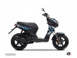 Kit Déco Scooter Cosmic MBK Stunt Bleu