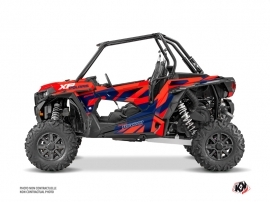 Polaris RZR 1000 Turbo UTV Cruiser Graphic Kit Red Blue